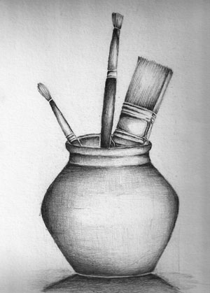 Still life drawing sept school holidays workshop with with pam leech lilly lee gallery
