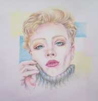 Portraits in Coloured Pencils